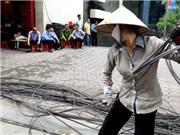 Hà Nội quyết tâm dẹp rác trời