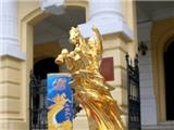 Kỷ niệm 60 năm Ngày giải phóng Thủ đô: Ra mắt Tượng vàng Thánh Gióng
