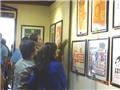 Triển lãm tranh cổ động tại Bảo tàng Lịch sử Quân sự