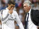 Ronaldo chấn thương: Tính sao đây, Carletto?