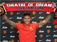 Bản hợp đồng 16 triệu bảng Marcos Rojo: 'Gia nhập Man United là một giấc mơ'