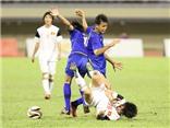 VIDEO: Cầu thủ U19 Thái Lan liên tục chơi 'kungfu' với U19 Việt Nam