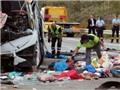 Tai nạn xe bus kinh hoàng ở Ai Cập, 38 người chết