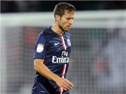 Vắng Ibrahimovic, Cabaye bị đuổi, PSG bất lực trước Evian