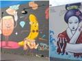Độc đáo nghệ thuật đường phố ở Hawaii