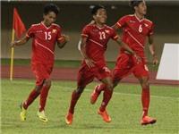 U19 Myanmar 4-3 U19 Việt Nam: Gục ngã vì hàng thủ