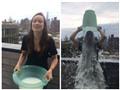 VIDEO: Cô đào Olivia Wilde chơi trội, đổ sữa người lên đầu để làm từ thiện