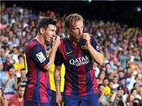 Khi Rakitic tìm thấy Messi