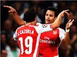 Alexis Sanchez tỏa sáng, Arsenal vào vòng bảng Champions League