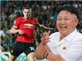 Kim Jong Un là fan của Man United?