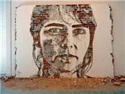 Kinh ngạc những tác phẩm đỉnh cao từ nghệ thuật… đục tường