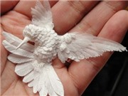 Sự kì diệu của nghệ thuật 'điêu khắc' từ… giấy
