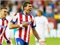 Mourinho đánh 'tennis'. Mandzukic ghi bàn, Atletico đại thắng. Falcao ăn mừng vì đến Real Madrid