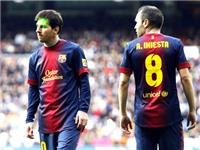 Messi, Iniesta phải nghỉ thi đấu vì chấn thương
