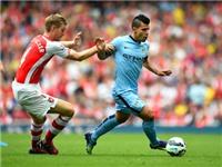 Arsenal-Man City 2-2: Thần công không giá đỡ