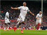 VIDEO: Agbonlahor lập công, Aston Villa hạ gục Liverpool ngay tại Anfield
