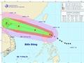 Bão Kalmaegi đi vào Biển Đông trở thành cơn bão số 3