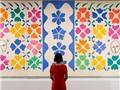 Triển lãm tranh cắt giấy của Henri Matisse thành công vang dội