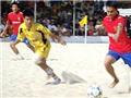 Tập trung đội tuyển bóng đá bãi biển Việt Nam