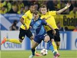 Arsenal chỉ sút trúng đích ĐÚNG 1 LẦN ở trận thua Dortmund
