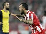 VIDEO: Địa chấn ở Hy Lạp, Atletico thua 2-3 trước Olympiacos