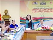 CHÙM ẢNH: 'Chung sức cùng TTVN chinh phục ASIAN GAMES 17 và ASIAN PARA GAMES 2014'