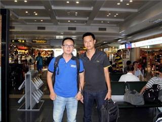 Phóng viên Thể thao & Văn hóa/TTXVN đã có mặt tại Incheon