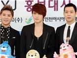 VIDEO: Nhóm JYJ hát 'Empty' tại lễ khai mạc ASIAD 17