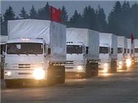 Đoàn xe viện trợ thứ 3 của Nga tới Ukraine
