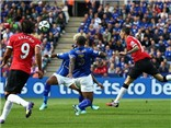 VIDEO Leicester 5-3 Man United: Thảm họa phòng ngự