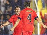 Levante - Barcelona 0-5: 'Bàn tay nhỏ' đầu tiên của Luis Enrique