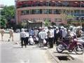 Qua đường đang thi công, một học sinh bị xe tải cán chết