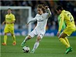 Villarreal 0-2 Real Madrid: Luka Modric và Ronaldo tỏa sáng