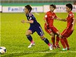 Thua Nhật Bản 0-3, tuyển nữ Việt Nam không thể tạo bất ngờ