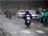 Tây Nguyên và Nam bộ đề phòng có mưa dông và gió giật mạnh