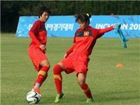 Tuyển nữ Việt Nam tập nhẹ trước trận gặp Hàn Quốc