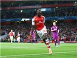 Arsenal đại thắng Galatasaray 4-1, Danny Welbeck đi vào lịch sử