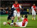 Lucas Moura lập công, PSG vẫn bị Monaco cầm hòa 1-1