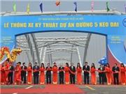 Thông xe cầu Đông Trù, cầu nối quan trọng phía Bắc Hà Nội
