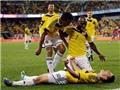 James Rodriguez lại ghi bàn thắng tuyệt vời từ chấm đá phạt
