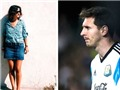 Cô gái gây sốt với cái bóng giống hệt Messi