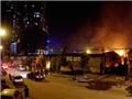 Hỏa hoạn dữ dội tại Khu đô thị Nam Trung Yên và Khu công nghiệp Quang Minh - Hà Nội