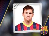 Messi không được đề cử tiền đạo xuất sắc nhất mùa