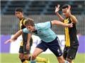 U21 Sydney- U21 Malaysia 1-2: Á quân là gây thất vọng