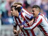 Ghi bàn thứ 9 bằng đầu, Atletico thắng dễ Espanyol