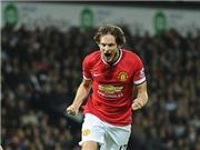 West Brom 2-2 Man United: Fellaini và Blind giải cứu Man United