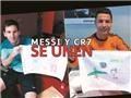Messi và Ronaldo chung tay làm việc thiện