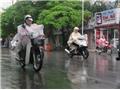 Gió đông ẩm hoạt động mạnh gây mưa cho nhiều khu vực