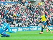 TRỰC TIẾP Sunderland - Arsenal (0-1, H2): VÀO!!! 1-0 cho Arsenal! SANCHEZ!