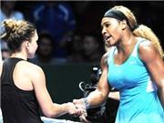 Bán kết WTF Finals 2014: Serena Williams tái ngộ Simona Halep ở chung kết